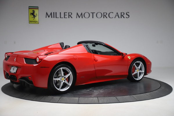 Used 2015 Ferrari 458 Spider for sale $235,900 at Alfa Romeo of Westport in Westport CT 06880 8