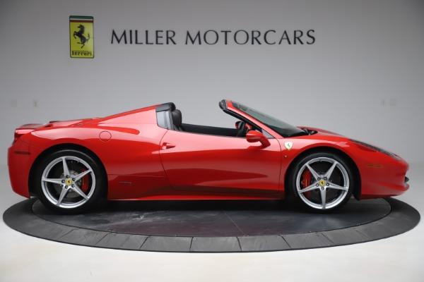 Used 2015 Ferrari 458 Spider for sale $235,900 at Alfa Romeo of Westport in Westport CT 06880 9