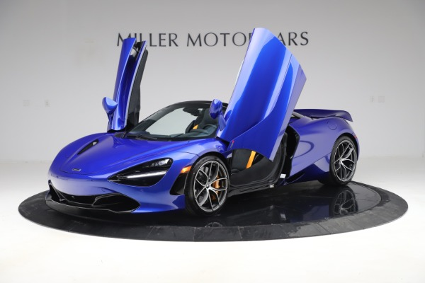 New 2020 McLaren 720S Spider Convertible for sale $364,090 at Alfa Romeo of Westport in Westport CT 06880 10