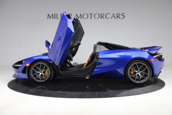 New 2020 McLaren 720S Spider Convertible for sale $364,090 at Alfa Romeo of Westport in Westport CT 06880 11