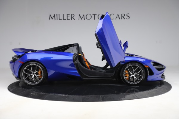 New 2020 McLaren 720S Spider Convertible for sale $364,090 at Alfa Romeo of Westport in Westport CT 06880 15