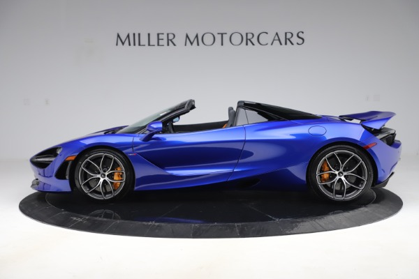 New 2020 McLaren 720S Spider Convertible for sale $364,090 at Alfa Romeo of Westport in Westport CT 06880 2