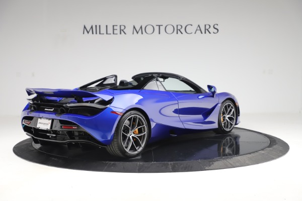 New 2020 McLaren 720S Spider Convertible for sale $364,090 at Alfa Romeo of Westport in Westport CT 06880 5