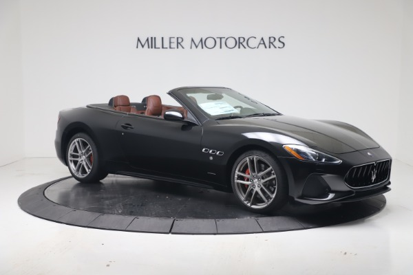 New 2019 Maserati GranTurismo Sport Convertible for sale $165,645 at Alfa Romeo of Westport in Westport CT 06880 10