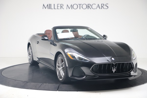 New 2019 Maserati GranTurismo Sport Convertible for sale $165,645 at Alfa Romeo of Westport in Westport CT 06880 11