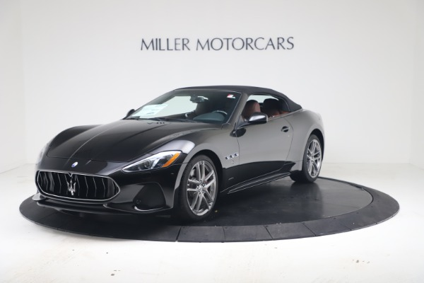 New 2019 Maserati GranTurismo Sport Convertible for sale $165,645 at Alfa Romeo of Westport in Westport CT 06880 13