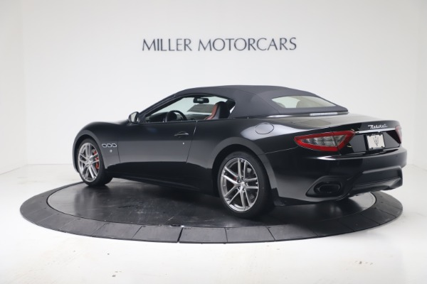 New 2019 Maserati GranTurismo Sport Convertible for sale $165,645 at Alfa Romeo of Westport in Westport CT 06880 15