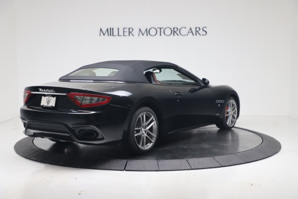 New 2019 Maserati GranTurismo Sport Convertible for sale $165,645 at Alfa Romeo of Westport in Westport CT 06880 16