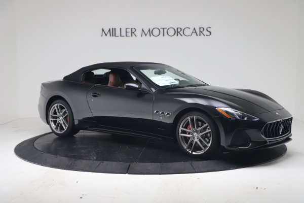 New 2019 Maserati GranTurismo Sport Convertible for sale $165,645 at Alfa Romeo of Westport in Westport CT 06880 18