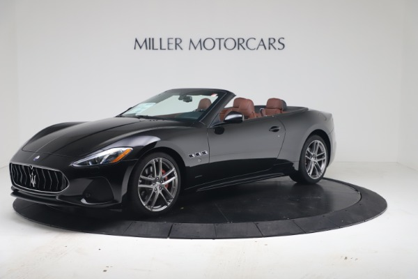 New 2019 Maserati GranTurismo Sport Convertible for sale $165,645 at Alfa Romeo of Westport in Westport CT 06880 2
