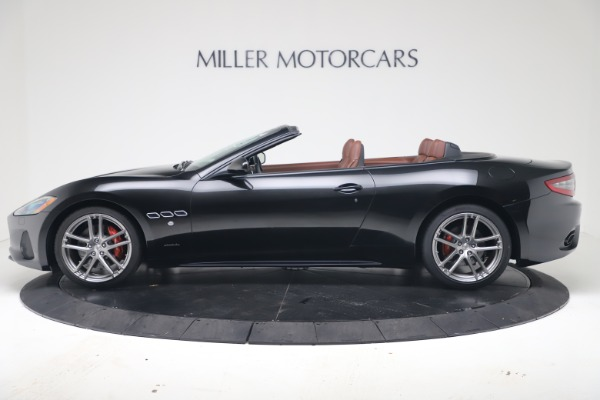 New 2019 Maserati GranTurismo Sport Convertible for sale $165,645 at Alfa Romeo of Westport in Westport CT 06880 3