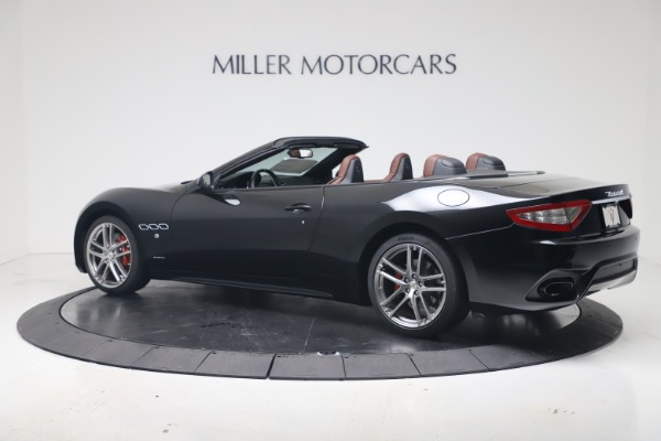 New 2019 Maserati GranTurismo Sport Convertible for sale $165,645 at Alfa Romeo of Westport in Westport CT 06880 4