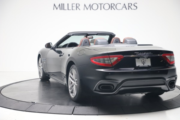 New 2019 Maserati GranTurismo Sport Convertible for sale $165,645 at Alfa Romeo of Westport in Westport CT 06880 5