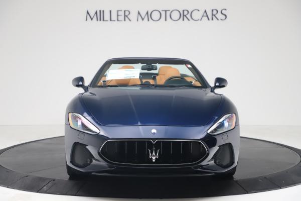 New 2019 Maserati GranTurismo Sport Convertible for sale $172,060 at Alfa Romeo of Westport in Westport CT 06880 12