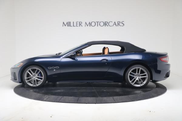 New 2019 Maserati GranTurismo Sport Convertible for sale $172,060 at Alfa Romeo of Westport in Westport CT 06880 14