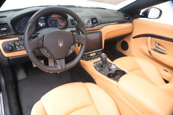 New 2019 Maserati GranTurismo Sport Convertible for sale $172,060 at Alfa Romeo of Westport in Westport CT 06880 19