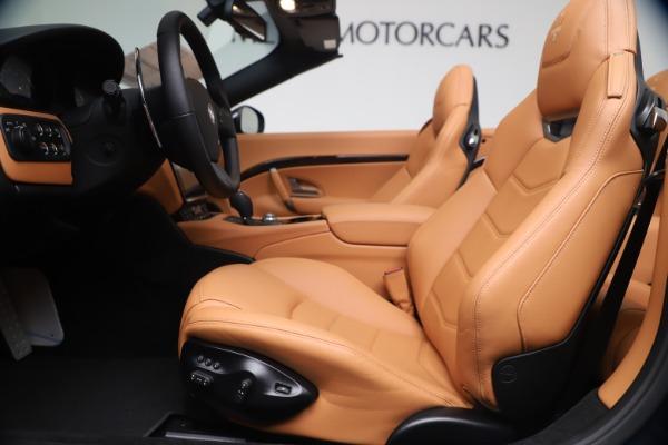 New 2019 Maserati GranTurismo Sport Convertible for sale $172,060 at Alfa Romeo of Westport in Westport CT 06880 20