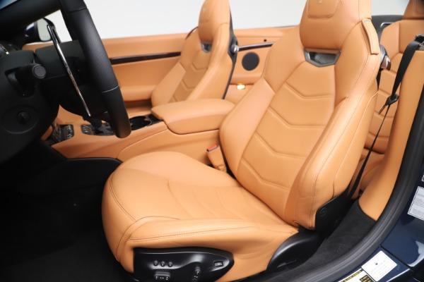 New 2019 Maserati GranTurismo Sport Convertible for sale $172,060 at Alfa Romeo of Westport in Westport CT 06880 21