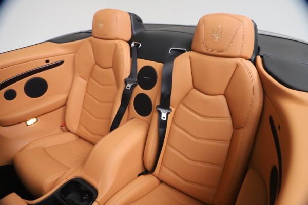 New 2019 Maserati GranTurismo Sport Convertible for sale $172,060 at Alfa Romeo of Westport in Westport CT 06880 24