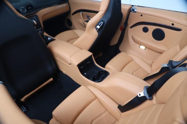 New 2019 Maserati GranTurismo Sport Convertible for sale $172,060 at Alfa Romeo of Westport in Westport CT 06880 25