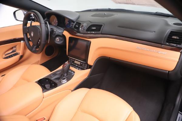 New 2019 Maserati GranTurismo Sport Convertible for sale $172,060 at Alfa Romeo of Westport in Westport CT 06880 26