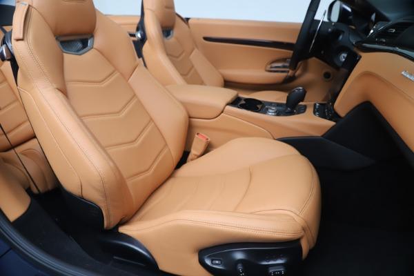 New 2019 Maserati GranTurismo Sport Convertible for sale $172,060 at Alfa Romeo of Westport in Westport CT 06880 28