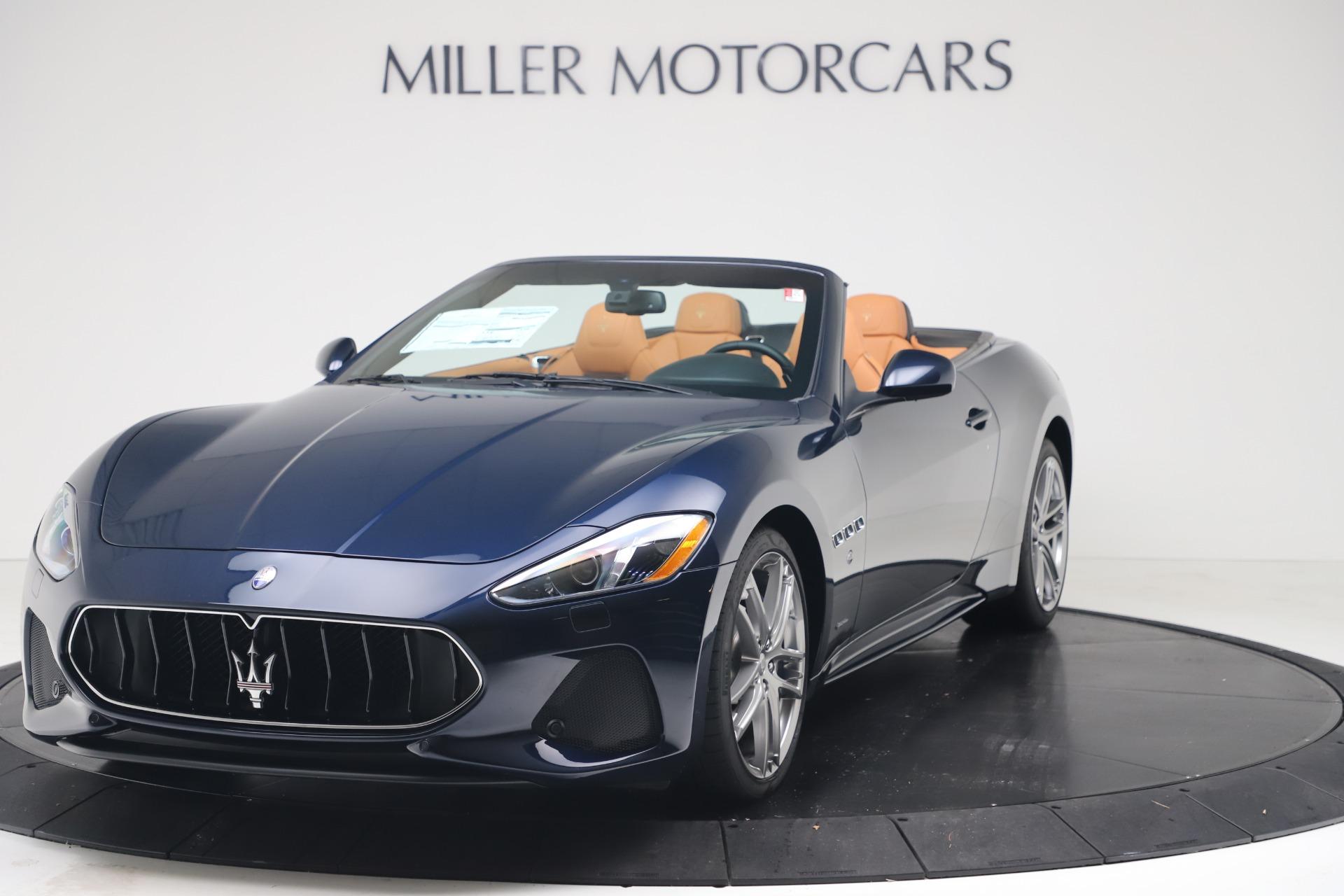 New 2019 Maserati GranTurismo Sport Convertible for sale $172,060 at Alfa Romeo of Westport in Westport CT 06880 1