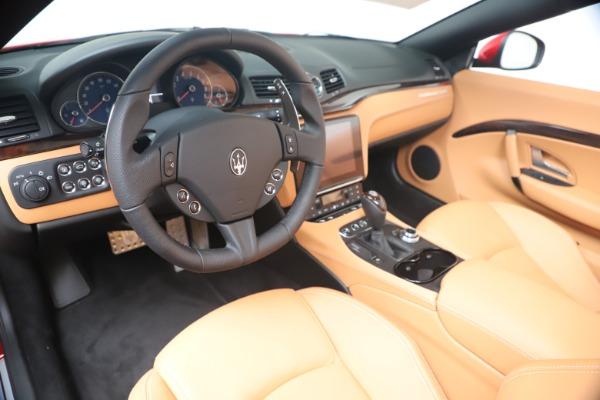 New 2019 Maserati GranTurismo Sport Convertible for sale Sold at Alfa Romeo of Westport in Westport CT 06880 19