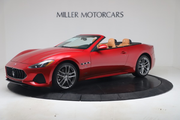 New 2019 Maserati GranTurismo Sport Convertible for sale Sold at Alfa Romeo of Westport in Westport CT 06880 2