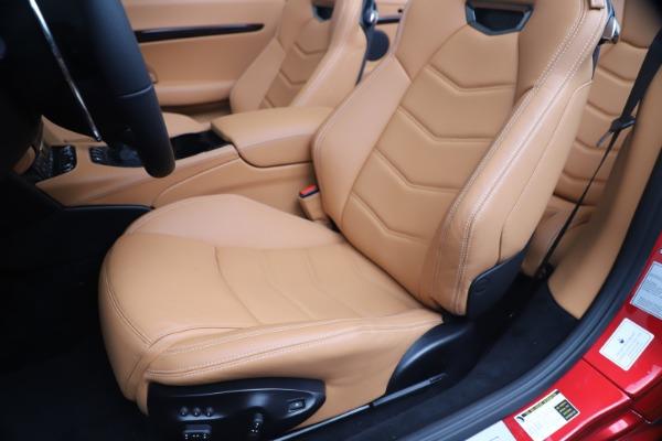 New 2019 Maserati GranTurismo Sport Convertible for sale Sold at Alfa Romeo of Westport in Westport CT 06880 21