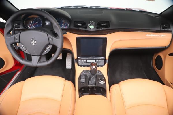 New 2019 Maserati GranTurismo Sport Convertible for sale Sold at Alfa Romeo of Westport in Westport CT 06880 22