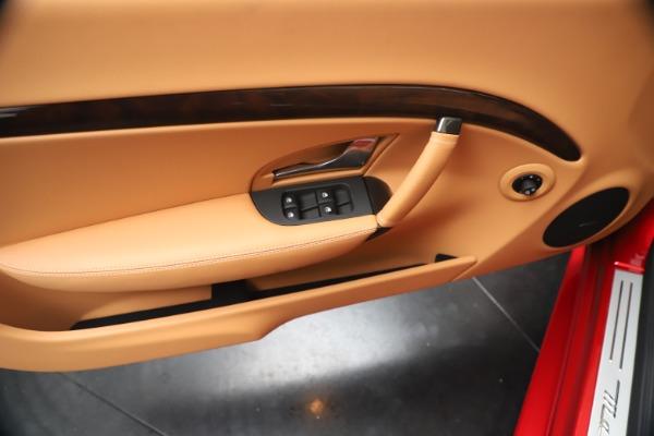 New 2019 Maserati GranTurismo Sport Convertible for sale Sold at Alfa Romeo of Westport in Westport CT 06880 23