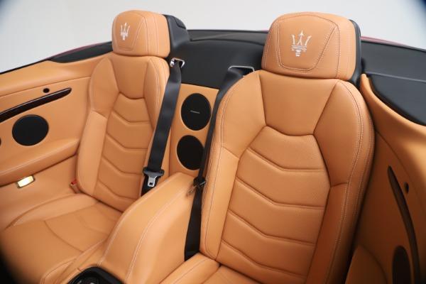 New 2019 Maserati GranTurismo Sport Convertible for sale Sold at Alfa Romeo of Westport in Westport CT 06880 24