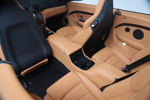 New 2019 Maserati GranTurismo Sport Convertible for sale Sold at Alfa Romeo of Westport in Westport CT 06880 25