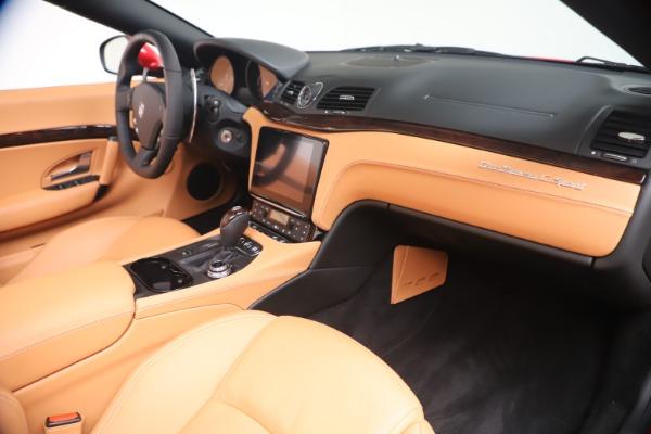 New 2019 Maserati GranTurismo Sport Convertible for sale Sold at Alfa Romeo of Westport in Westport CT 06880 26