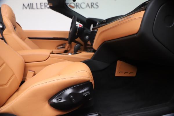 New 2019 Maserati GranTurismo Sport Convertible for sale Sold at Alfa Romeo of Westport in Westport CT 06880 27