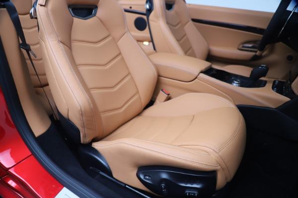 New 2019 Maserati GranTurismo Sport Convertible for sale Sold at Alfa Romeo of Westport in Westport CT 06880 28