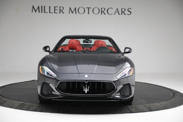 New 2019 Maserati GranTurismo Sport Convertible for sale $165,340 at Alfa Romeo of Westport in Westport CT 06880 11