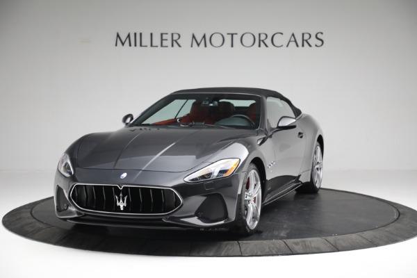 New 2019 Maserati GranTurismo Sport Convertible for sale $165,340 at Alfa Romeo of Westport in Westport CT 06880 12