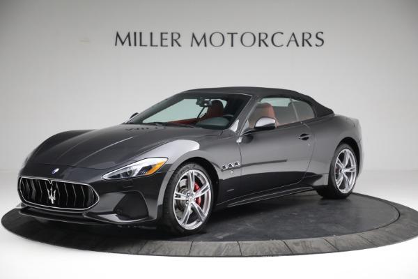 New 2019 Maserati GranTurismo Sport Convertible for sale $165,340 at Alfa Romeo of Westport in Westport CT 06880 13