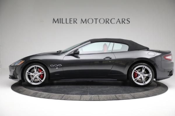 New 2019 Maserati GranTurismo Sport Convertible for sale $165,340 at Alfa Romeo of Westport in Westport CT 06880 14