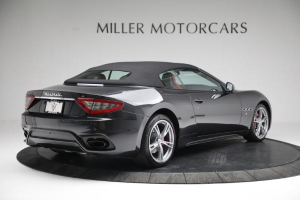New 2019 Maserati GranTurismo Sport Convertible for sale $165,340 at Alfa Romeo of Westport in Westport CT 06880 18