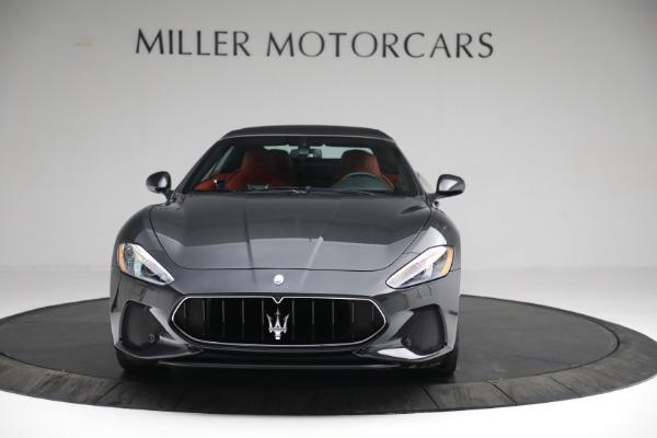 New 2019 Maserati GranTurismo Sport Convertible for sale $165,340 at Alfa Romeo of Westport in Westport CT 06880 23