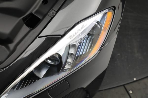 New 2019 Maserati GranTurismo Sport Convertible for sale $165,340 at Alfa Romeo of Westport in Westport CT 06880 26