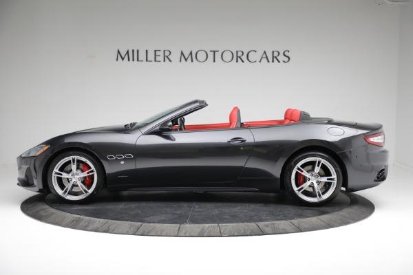 New 2019 Maserati GranTurismo Sport Convertible for sale $165,340 at Alfa Romeo of Westport in Westport CT 06880 3