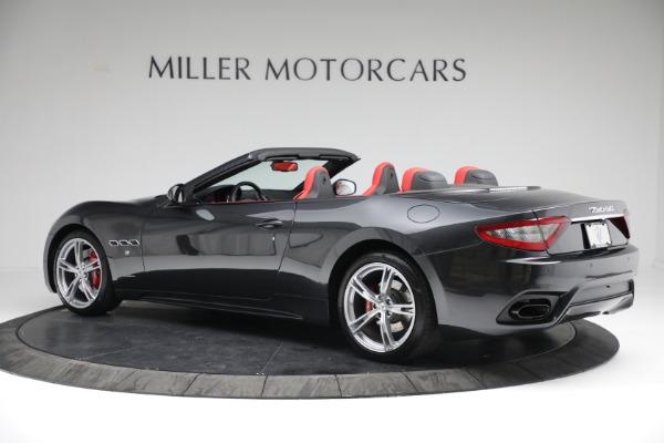 New 2019 Maserati GranTurismo Sport Convertible for sale $165,340 at Alfa Romeo of Westport in Westport CT 06880 4