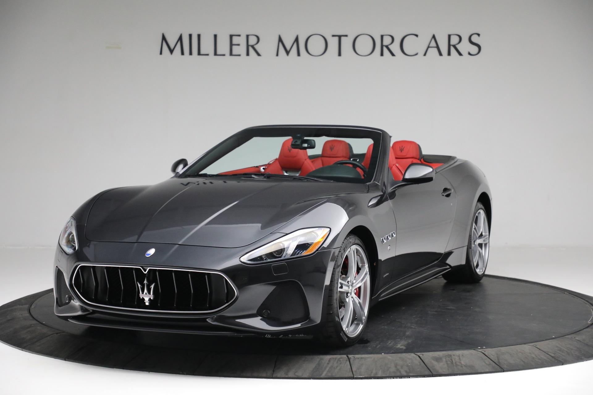 New 2019 Maserati GranTurismo Sport Convertible for sale $165,340 at Alfa Romeo of Westport in Westport CT 06880 1