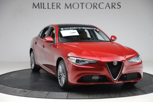 New 2019 Alfa Romeo Giulia Ti Lusso Q4 for sale $54,790 at Alfa Romeo of Westport in Westport CT 06880 11