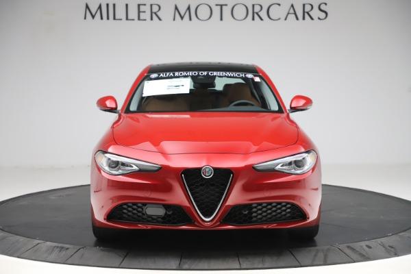 New 2019 Alfa Romeo Giulia Ti Lusso Q4 for sale $54,790 at Alfa Romeo of Westport in Westport CT 06880 12
