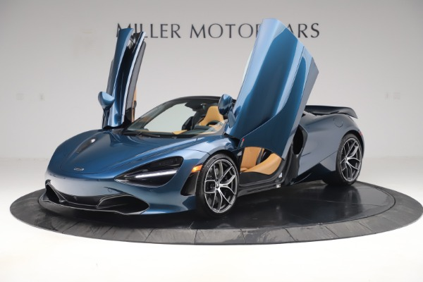 New 2020 McLaren 720S Spider Luxury for sale $380,835 at Alfa Romeo of Westport in Westport CT 06880 13